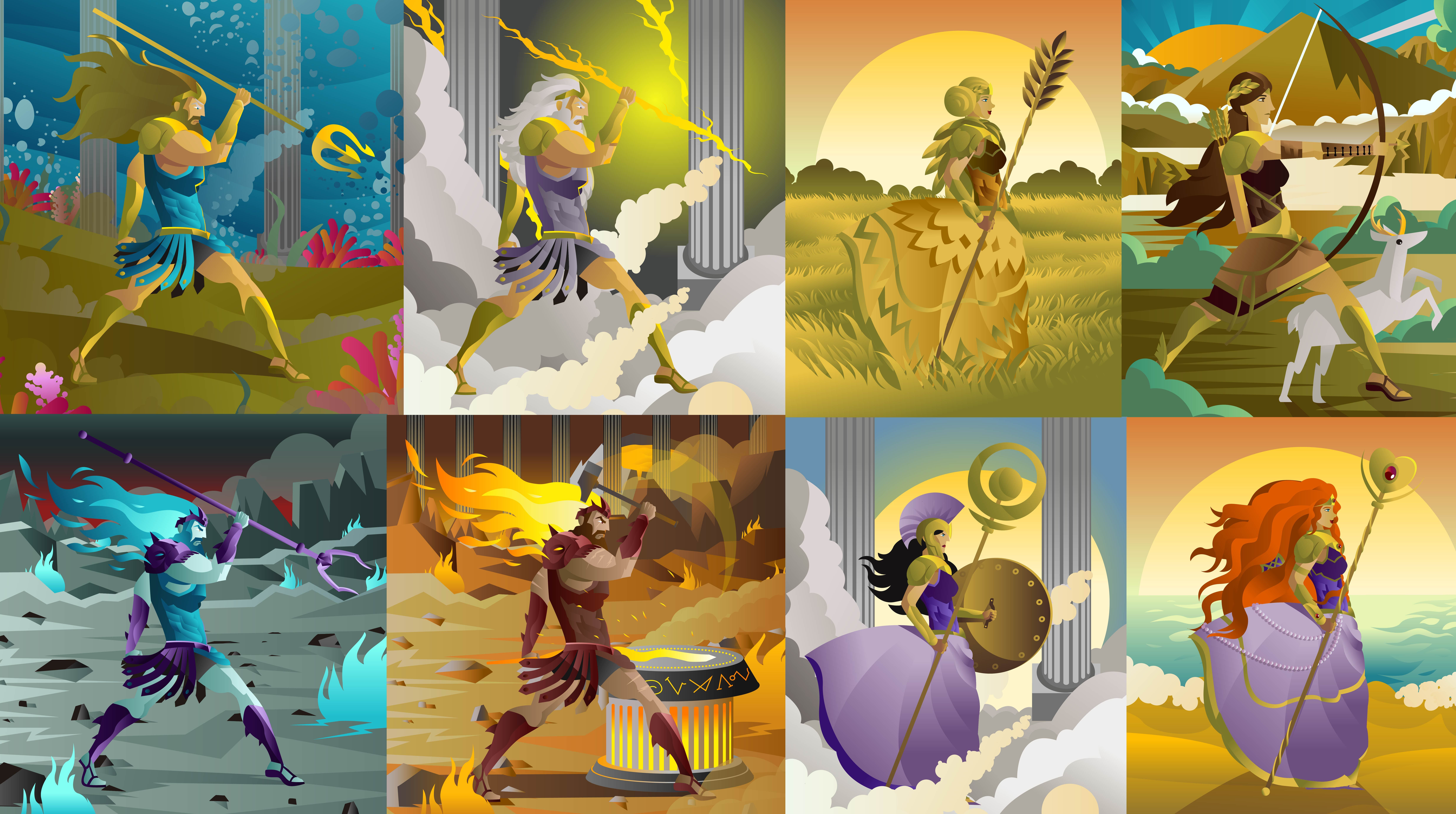 Archetypal gods